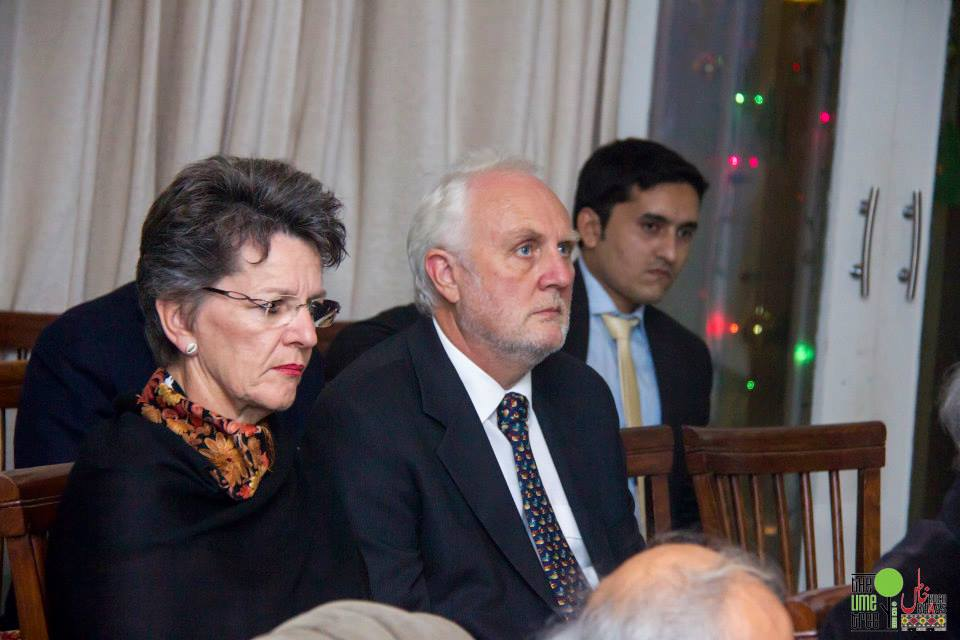 H.E Mr.Peter Heyward, Australian High Commissioner, during presentation on Sikh Heritage Of Pakistan at Kuch Khaas, Islamabad (Photo Credits: Riz Photography)